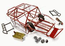 Realistic Scale T2 RCT1.9 Roll Cage Tube Frame Chassis Set for 1/10 Axial SCX-10