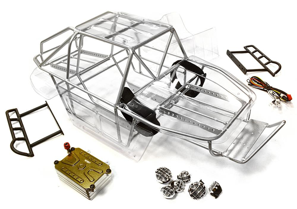 Realistic Scale T2 RCT1.9 Roll Cage Tube Frame Chassis Set for 1/10 ...