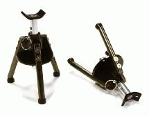 Realistic 70-110mm Model Jack Stands (2) for 1/10 & 1/8 Scale & Rock Crawler
