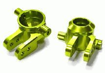 Billet Machined Steering Knuckles for Traxxas 1/10 Slash 4X4 & Rustler 4X4