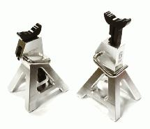 Realistic Model 6 Ton Jack Stands (2) for 1/10, 1/8 Scale & Rock Crawler
