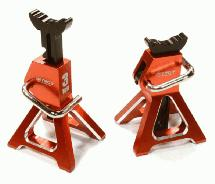 Realistic Model 3 Ton Jack Stands (2) for 1/10, 1/8 Scale & Rock Crawler