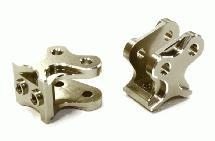 Billet Machined Alloy T5 Lower Suspension Link Mount (2) for Axial Wraith