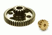 0.8 Pitch Metal Spur & Pinion Gear Set for C23510 Type Gear Set