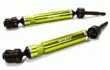 Dual Joint Telescopic Rear Drive Shafts for Traxxas 1/10 Stampede 2WD