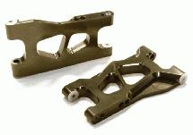 Billet Machined Lower Suspension Arms for TRX LaTrax Teton 1/18 Monster Truck