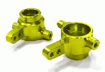 Billet Machined Steering Knuckle (2) for Traxxas 1/10 Slash 4X4 LCG
