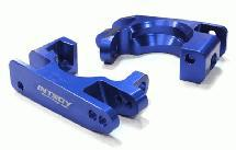 Billet Machined Caster Blocks for Traxxas 1/10 Rustler 4X4 & Slash 4X4 LCG