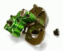 Billet Machined Main Gearbox w/ Metal Gears for Axial SCX-10 Honcho, Jeep, Dingo