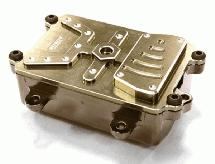 Realistic Metal Receiver Box for Axial 1/10 SCX-10 Scale Crawler Truck