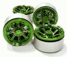 1.9 Size Billet Machined Alloy 8 Spoke Wheel(4) High Mass Type for Scale Crawler