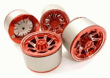 2.2 Size Billet Machined Alloy 8D Spoke Wheel(4)High Mass Type for Scale Crawler