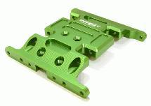 Billet Machined Center Gear Box Mount Skid Plate for Axial 1/10 SCX-10 Crawler
