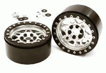 Billet Machined 12 Spoke Off-Road 2.2 Size Wheel (2) for 1/10 Rock Crawler