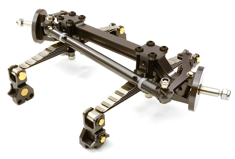Tractor Front Suspension : Billet machined t front beam w suspension kit for custom