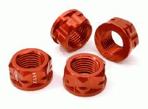 Serrated 17mm Hex Wheel Nut (4) for 1/8 Buggy, Truggy, SC & Monster Truck
