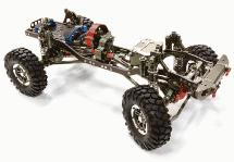 Billet Machined 1/10 Size CF310 Trail Roller 4WD Off-Road Scale Crawler ARTR