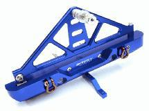 Billet Machined Realistic Rear Bumper for Axial SCX-10 Crawler w/ 43mm Mount