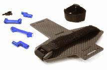 Machined Battery Tray w/ Composite Plate for Vaterra Twin Hammers 1.9 Rock Racer