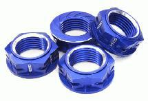 Machined Serrated 25mm Hex Wheel Nut (4) for 1/5 Losi Buggy & Monster Truck
