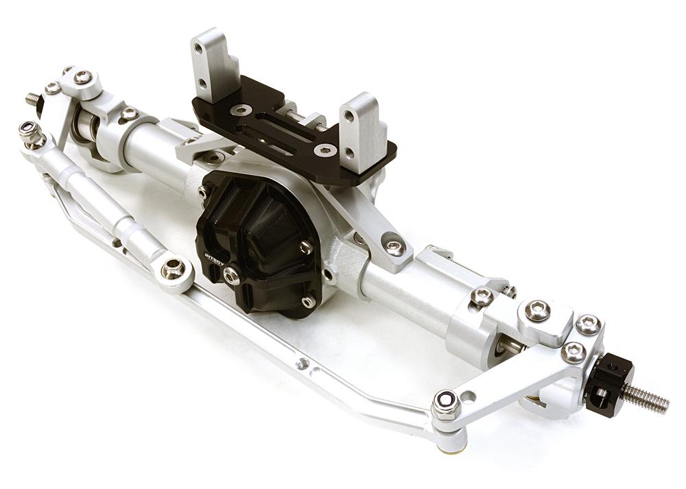 Complete Billet Machined T9 Front Axle for Axial 1/10 SCX-10 Dingo Honcho & Jeep