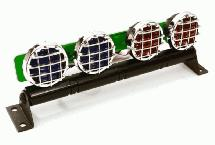 Realistic Roof Top SMD LED Light Bar 119x20x41mm for 1/10 Scale Crawler