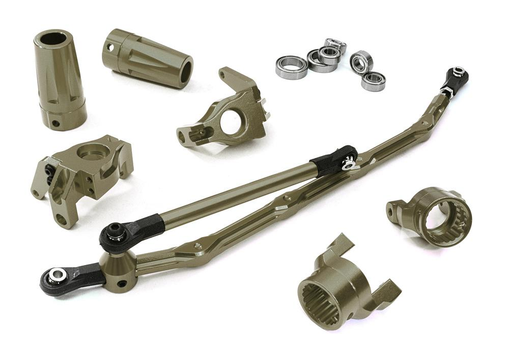 Billet Machined T1 Conversion Set for Axial 1/10 Wraith Rock Racer