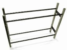 Wheel & Tire Storage Rack 10.5x2.5x8 Inch for 1/10 & 1/8 Scale