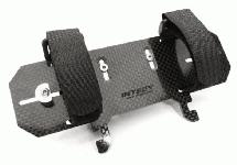 Machined Composite Battery Tray for Axial SCX-10 Scale Off-Road Crawler
