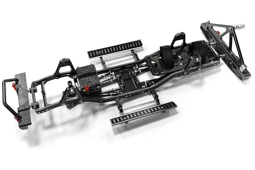 Composite Ladder Frame Chassis Kit W Hop Up Combo For Scx 10
