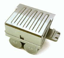 Realistic Alloy Air Reservoir Tanks & Side Box Enclosure for 1/14 Trucks