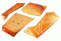 Aluminum Alloy Panel Kit for Axial 1/8 Yeti XL Rock Racer Buggy