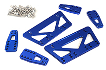 CNC Machined Chassis & Shock Mount Lift Kit for Axial 1/10 SCX-10 Scale Crawler