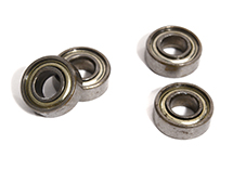 Blue Sealed 4pcs Ball Bearing 5x11x4mm for Axial 1/10 SCX-10 Scale Crawler