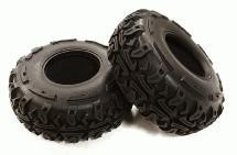 All Terrain Off-Road 2.2 Size (2) Tire O.D. 133mm for 1/10 Scale Crawler