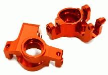 Billet Machined Alloy Front Hub Steering Blocks for Axial Yeti XL