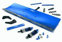 Alloy Machined Snowplow Kit for Traxxas 1/10 Stampede 4X4 Slash 4X4