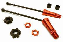 Universal Drive Shafts w/ +6mm Ext. Stub Axles (2) for Traxxas X-Maxx 4X4