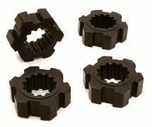 Billet Machined 24mm Hex Adapter Wheel Hubs for Traxxas X-Maxx 4X4