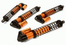 Billet Machined Piggyback Shock Set (4) for Traxxas X-Maxx 4X4