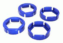 Billet Machined Wheel Hex Outer Reinforcement Ring Set(4) for Traxxas X-Maxx 4X4
