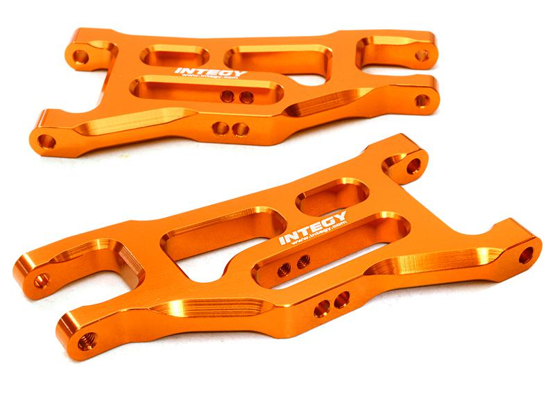 Billet Machined Front Lower Arms for 1/10 Rustler, Slash 2WD & Stampede 2WD