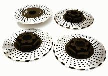 Realistic Alloy Brake Disc Set for Traxxas X-Maxx 4X4