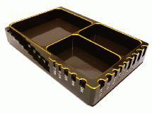 Universal Workbench Organizer 120x80x20mm Workstation Tray