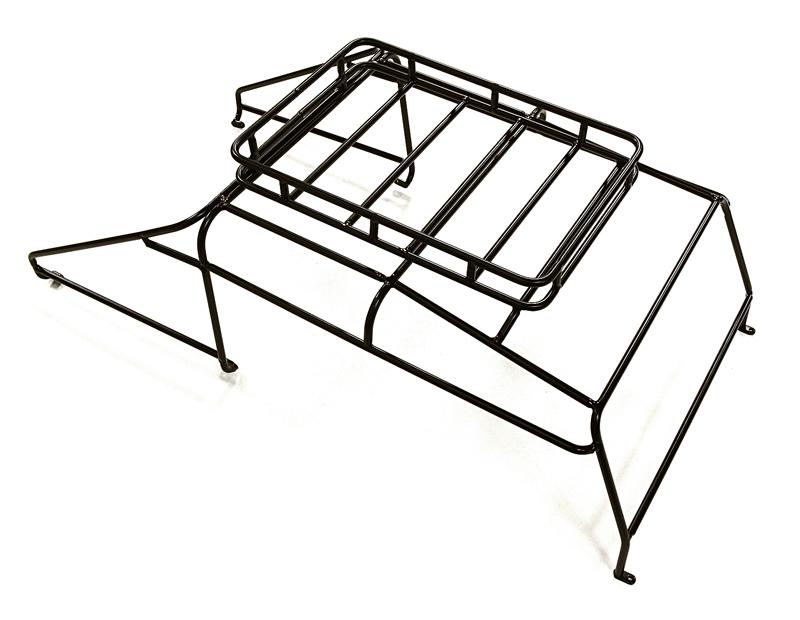 Realistic Outer Roll Cage W Luggage Tray For 110 D130 Gen 2 Scale