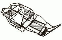 1/10 Steel DIY Roll Cage Tube Frame Chassis for Axial SCX-10 & AX10