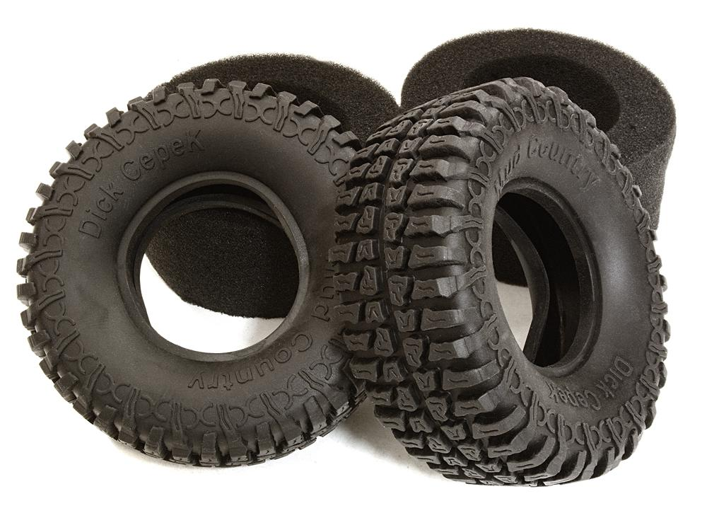 Rock Crawler Wheels : Realistic d scale crawlers parts for