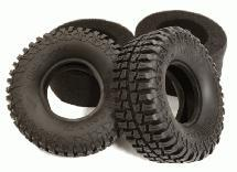 1.9 Size Rock Crawler Tire (2) Set for 1/10 Scale D90, TF2 & SCX-10