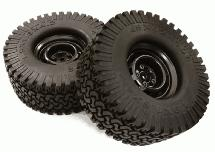 Realistic Spoke Off-Road 1.9 Size Wheel & All Terrain Tire (2) (O.D.=110mm)