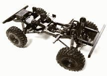 Billet Machined 1/10 D90 Gen-2 Roller 4WD Off-Road Scale Crawler ARTR